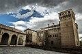 Temporale in arrivo sulla Rocca di Vignola.jpg