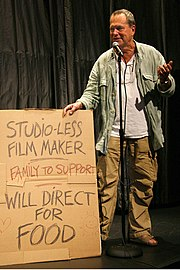 Terry Gilliam at IFC Center. October 4, 2006.