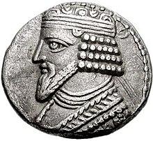 49.jpg ile basılmış Gotarzes II Tetradrahmi