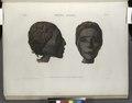 Thèbes. Hypogées. Profil et face d'une tête de momie de femme (NYPL b14212718-1267980).tiff