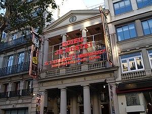 Théâtre des Variétés - The théâtre des Variétés in 2012