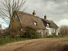 Thatched cottage at Sackers Green (monument)