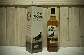 The Famous Grouse - A bottle of Black Grouse