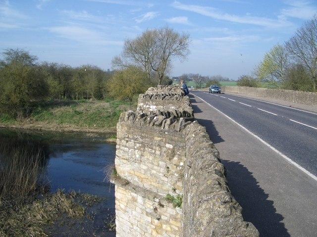 The A428 Road Bridge at Turvey - geograph.org.uk - 395968