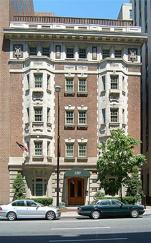 "Waddy Butler Wood - Bachelor Apartment House aka ""The Bachelor"" in Washington, D.C."
