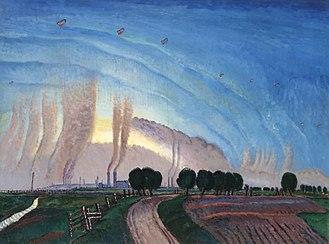 Frank Dobson (sculptor) - The Balloon Apron (1918) (Art.IWM ART2001)