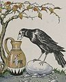The Crow and the Pitcher - Project Gutenberg etext 19994.jpg