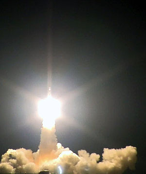 RAX-2 - The Delta II carrying RAX-2, five other CubeSats, and the NPP Earth observing satellite, launching from Vandenberg AFB on 28 Oct 2011