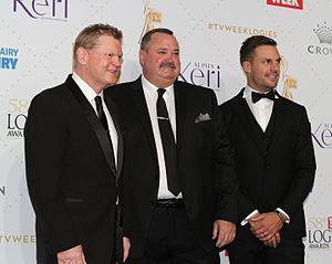 Paul Vautin - Paul Vautin (on the left) at 2016 TV Week Logie Awards