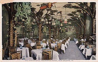 The Roosevelt New Orleans - The Forest Grill at the Hotel Grunewald