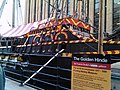 The Golden Hinde Reconstruction, Pickford's Wharf - geograph.org.uk - 1882761.jpg