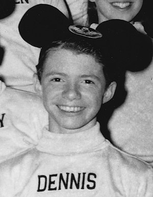 The Mickey Mouse Club Mouseketeers Dennis Day 1956.jpg