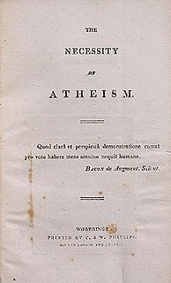 The Necessity of Atheism book by Percy Bysshe Shelley