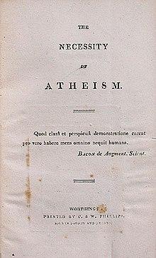 The Necessity of Atheism and Other Essays (Freethought Library)