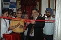 The Noted Film Director And Producer, Shri Subhash Ghai inaugurating the Actor Lounge, at the 39th International Film Festival (IFFI-2008) in Panaji, Goa on November 23, 2008.jpg