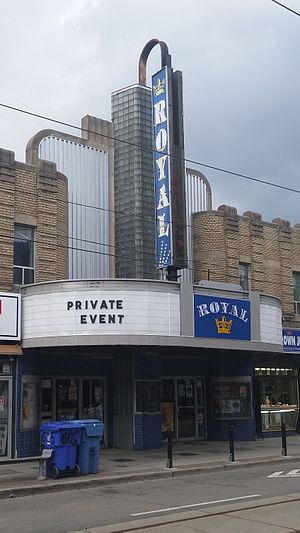Royal Cinema - The Royal Cinema in 2017.