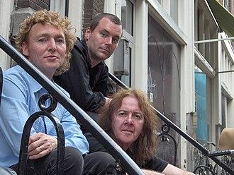 The Saints (Australian band) - Peter Wilkinson, Caspar Wijnberg, Chris Bailey Amsterdam, July 2006