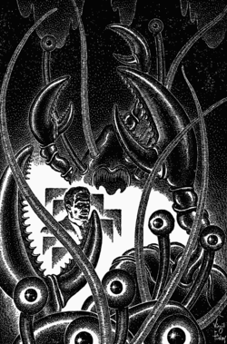 The Time Machine by Virgil Finlay 4
