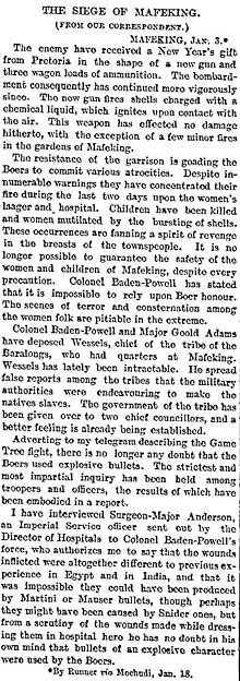 The Times (1900) Siege of mafeking.jpg