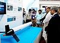"The Union Home Minister, Shri Rajnath Singh visiting the ""Maritime India Summit - 2016"" expo, in Mumbai on April 15, 2016 (1).jpg"