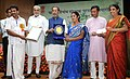 The Union Minister for Agriculture and Farmers Welfare, Shri Radha Mohan Singh presented the Plant Genome Savior Community Awards (2012-13), at a function, in New Delhi (4).jpg