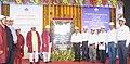 The Union Minister for Steel, Shri Chaudhary Birender Singh dedicating the rebuilt Blast Furnace -1 'Parvati' of Rourkela Steel Plant of SAIL to the Nation, in Rourkela, Odisha.JPG
