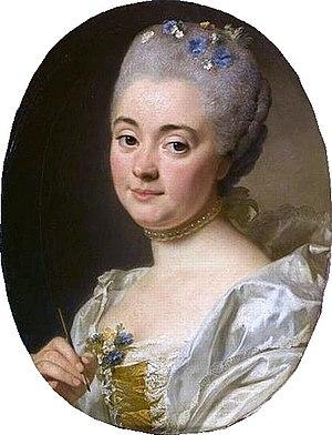 Marie-Thérèse Reboul - Portrait of Marie-Thérèse Reboul in 1757, by Alexander Roslin