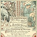 The baby's own Aesop - being the fables condensed in rhyme with portable morals pictorially pointed by Walter Crane. Engraved and printed in colours by Edmund Evans (1908) (14751089234).jpg