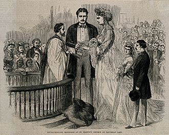 Anna Haining Bates - The marriage of Martin van Buren to Anna Swan, 1871
