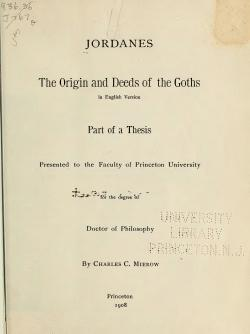 The origin and deeds of the Goths in English version.djvu