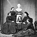 The royal children in mourning Mar 1862.jpg