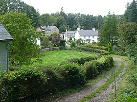 The southern end of Llanover village - geograph.org.uk - 971647.jpg