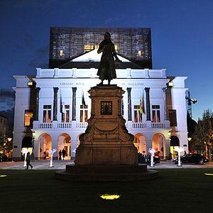 Opéra Royal de Wallonie - Opéra Royal de Wallonie by night in Liège