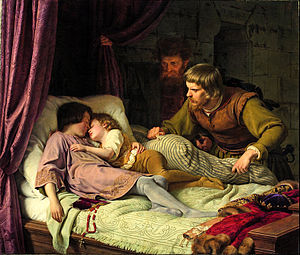 Theodor Hildebrandt - Image: Theodor Hildebrandt The Murder of the Sons of Edward IV Google Art Project