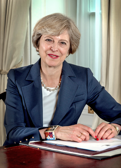 Theresa May cropped
