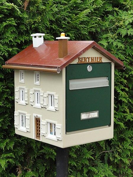 Thiaville-sur-Meurthe (M-et-M) boite à lettres