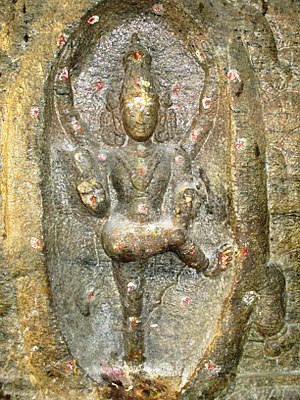 Thirupparamkunram Murugan temple - Gajasurasamhara, form of Shiva