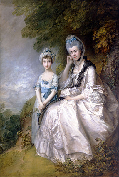 File:Thomas Gainsborough - Hester, Countess of Sussex, and Her Daughter, Lady Barbara Yelverton - Google Art Project.jpg