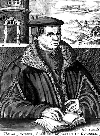 Anabaptism - Thomas Müntzer led the German peasants against the landowners