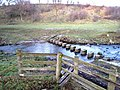Three crossings of Thornhope Beck - 2 - geograph.org.uk - 322582.jpg