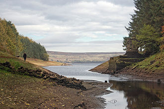 Thruscross Reservoir - Image: Thruscross Inlet