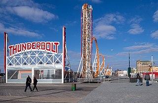 Thunderbolt (2014 roller coaster) roller coaster built 2014