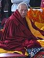 Tibetan Geshe Lhundrup Rigsel (a.k.a. Lama Lhundrup) at Kopan Monastery, Nepal in 2010 (cropped).jpg