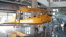 fb206f503 De Havilland Tiger Moth in The Royal Thai Air Force Museum