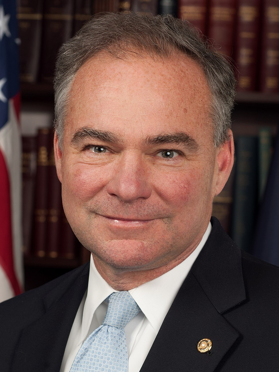 Tim Kaine, official 113th Congress photo portrait (cropped)