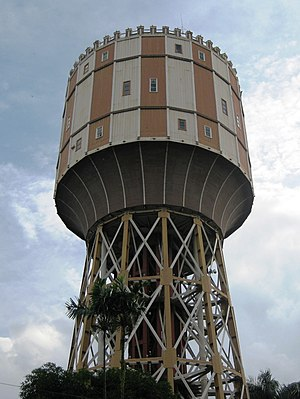 Tirtanadi Water Tower, Medan - panoramio
