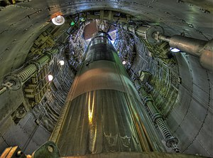 19th Air Division - Image: Titan II missile in silo (7155006607)