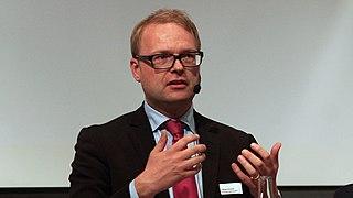 Forskningsminister Tobias Krantz.