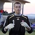 Tomáš Lešnovský (MFK Ružomberok), Slovakia U-19 (02).jpg