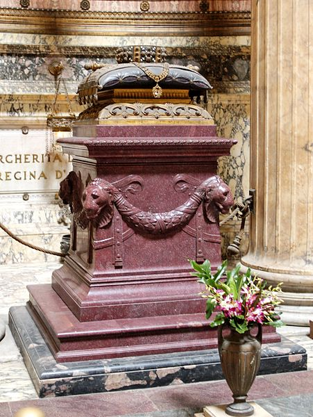 File:Tomb Umberto I Pantheon 2006.jpg